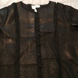 CBO New York Leather Blazer/Jacket